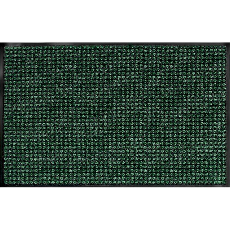 "Prestige Emerald Door Mat (18"" x 27""), Black (Synthetic Fiber)"