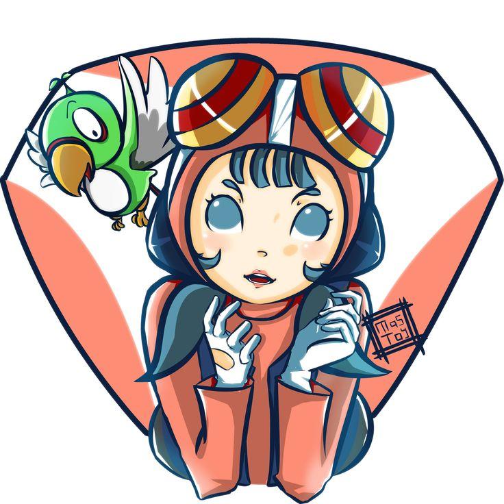 Junko and Perasuke Time Bokan Fansart