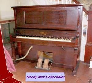 ANTIQUE MARSHALL & WENDALL PLAYER PIANO - $800 (HISTORIC MT. AIRY, MD. 21771)