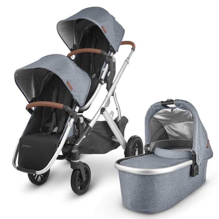 UPPAbaby 2020 Vista V2 Double Stroller in Gregory in 2020