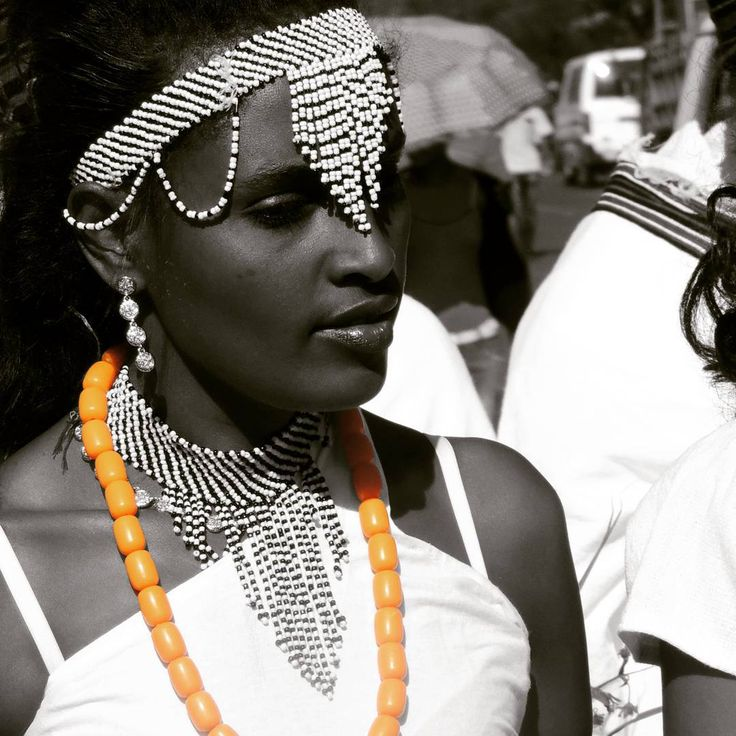 Oromo woman at Irreecha Birraa 2015. Thanksgiving. Oromo Beauty is Africa's beauty. Black is beautiful. Oromia is beautiful. Bless khemetic Africa in contuinity of Ancient culture