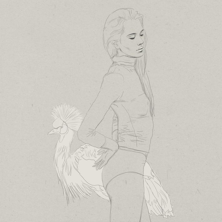 LIA  Digital artwork by Phaedra seven.  #illustration #digital #art #drawing #sketch #painting