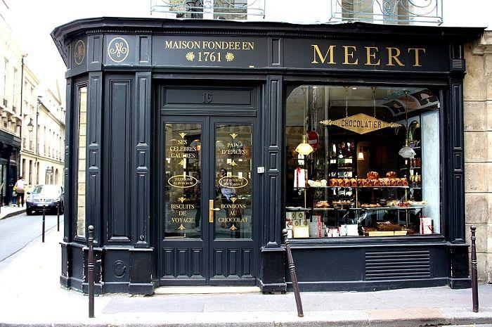 Boutique Meert,16 rue Elzévir 75003 Paris, Métro Saint-Paul