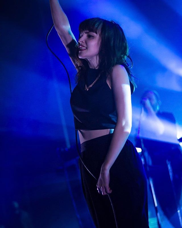 It's already been one year since CHVRCHES in Chicago. Man, time flies...  Very much looking forward to the #CHV3 tour!