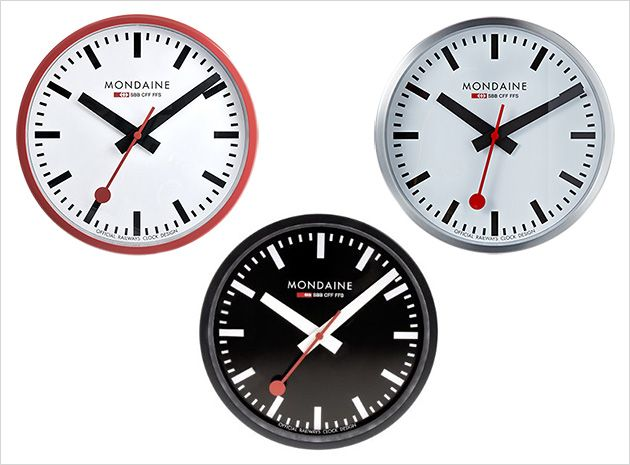 The 25 best swiss clock ideas on pinterest cuckoo clocks scandinavian cuckoo clocks and - Swiss railway wall clock ...