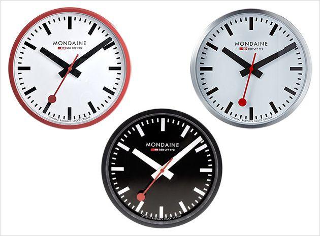 1000 Ideas About Swiss Railway Clock On Pinterest Swiss