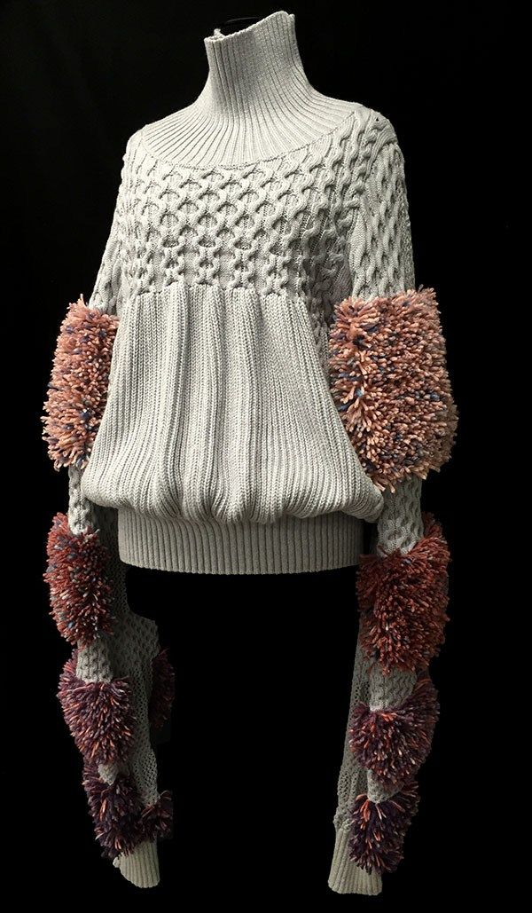 Designer: Marion Kunz: knitGrandeur: FIT & Baruffa 2/30s Cashwool Collaboration 2016: Term Garment Project