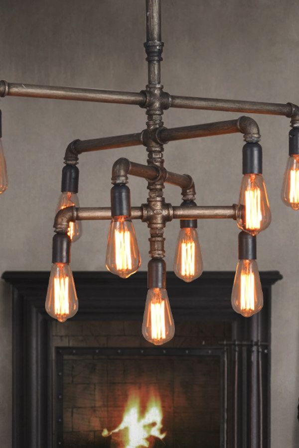 29 Creative Industrial Style Lighting Projects To Complete Your