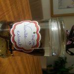 Vanille-extract, zelfgemaakt. Ongelooflijk veelvuldig gebruikt ingrediënt bij het bakken.