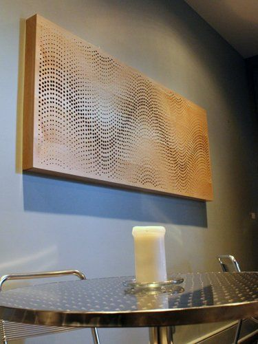 Perforated Acoustic Wood Panels - Soundproof Acoustic Panels