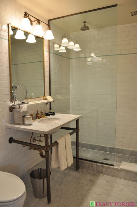 bowery hotel bathroom
