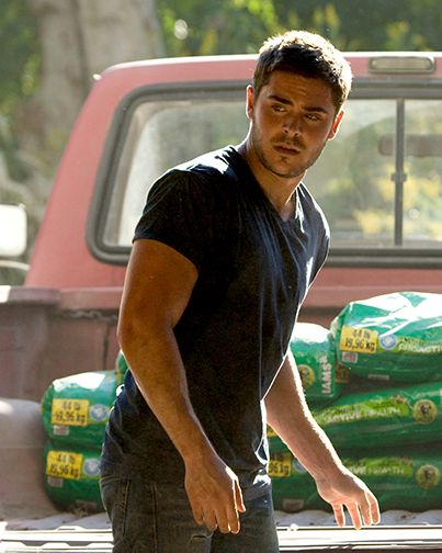 THE LUCKY ONE - Zac Efron