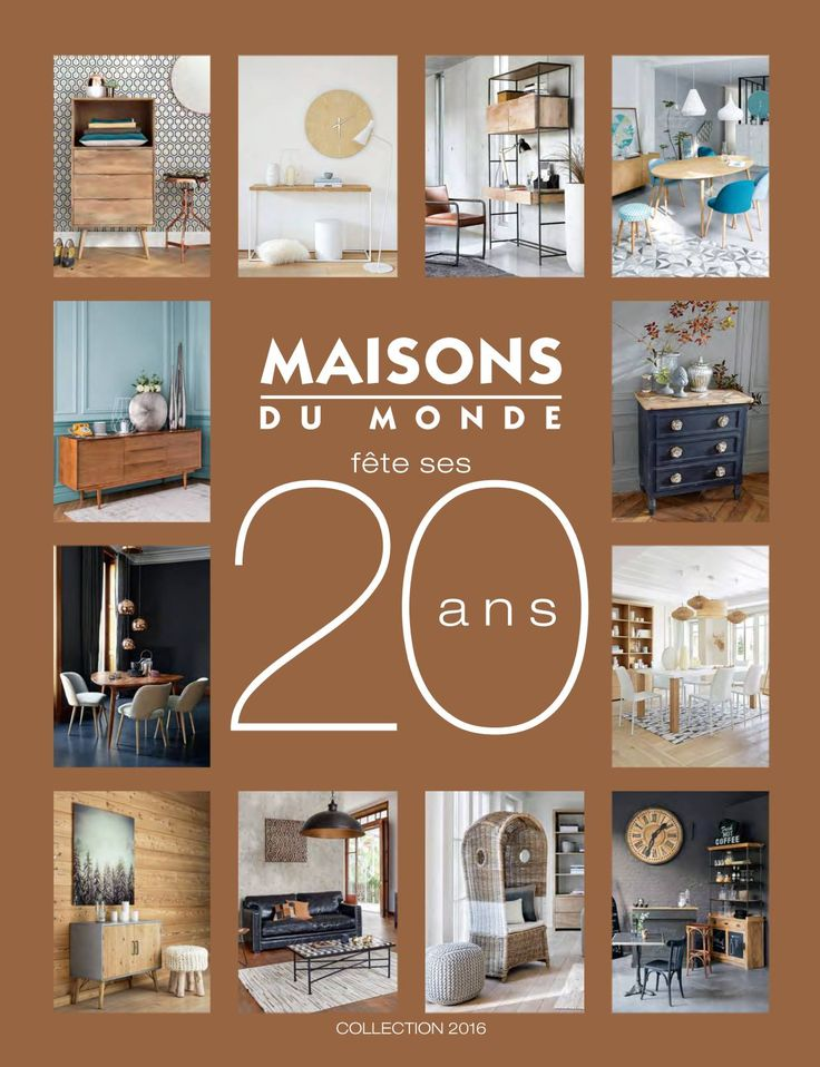 1000 id es sur le th me maison du monde catalogue sur for Maison du monde facebook