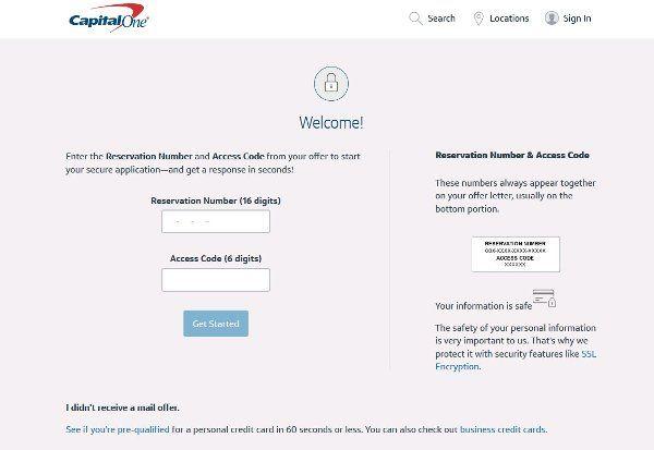 Capital one credit card online banking home loan capitalone capitalone.com
