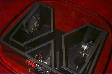 WO32 Dual Horn loaded subwoofer