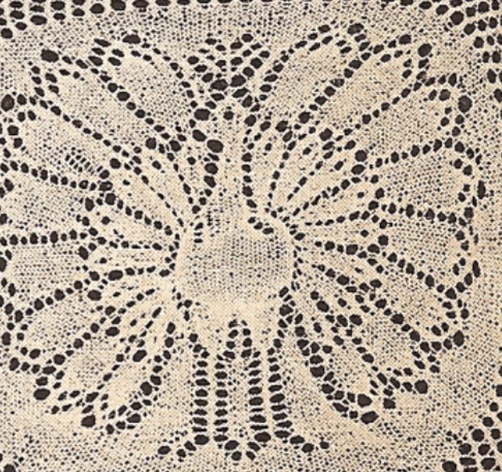 Awesome Knitted Doily Pattern Sketch - Easy Scarf Knitting Patterns ...