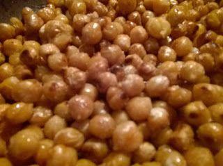 Gluten free life: Kyslo-slaný cícer
