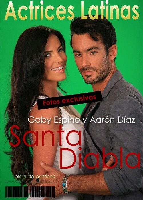 Aaron Díaz y gaby espino santa diabla