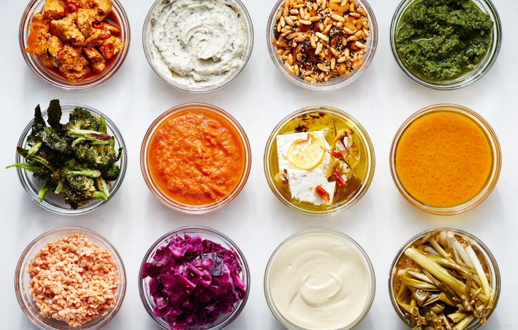 The not-so-secret formula behind Sweetgreen and other D.I.Y. salad spots? It's called mise en place. Give an hour to prepping a few of these components, and thank yourself all week long.