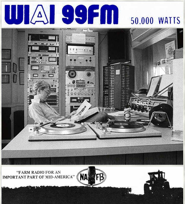 WIAI 99FM Danville radio station, Old time