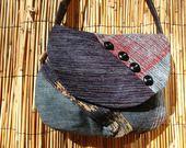 Sac Minaudière Patchwork Multicolore Bandoulière Collection Lina : Sacs bandoulière par lulolilousacs