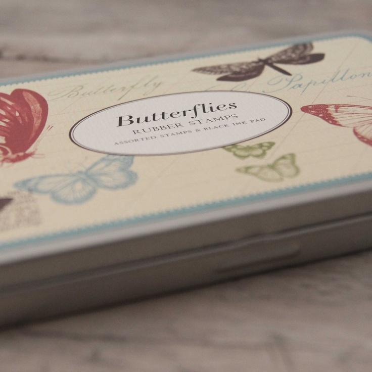 Image of Set de Sellos - Butterfly