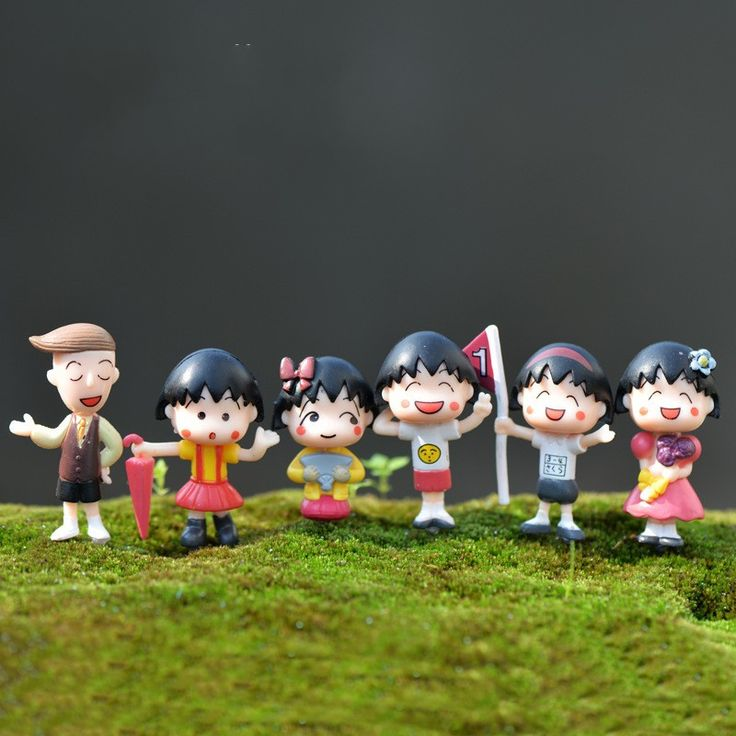 1Pcs Cute Maruko DIY Resin Fairy Garden Craft Decoration Miniature Micro Gnome Terrarium Gift F0068-in Figurines & Miniatures from Home & Garden on Aliexpress.com | Alibaba Group