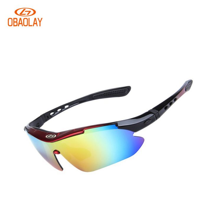 Hot Sale OBAOLAY 5 Lens Polarized Bicycle Glasses UV400 Prorection Riding MTB Eyewear TR90 Goggles Road/Mountain Bike Sunglasses
