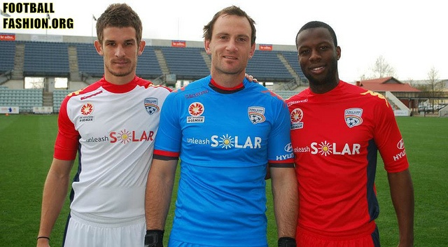 Adelaide United FC 2012/13 Kappa Home and Away Kits