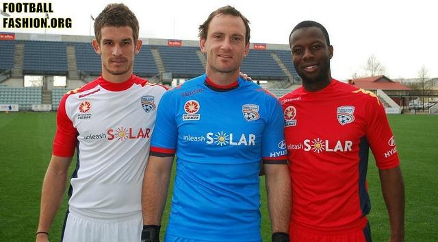 Adelaide United FC 2012/13 Kappa Home and Away Kits