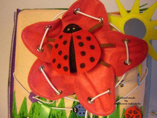 Развивающие игрушки от Shelkovoe rukodelie #фетр #развивающиеигрушки #подарок #развитиеребенка #мелкаямоторика #кубик #природа #насекомые #felt #shelkovoerukodelie #kinder #children #give
