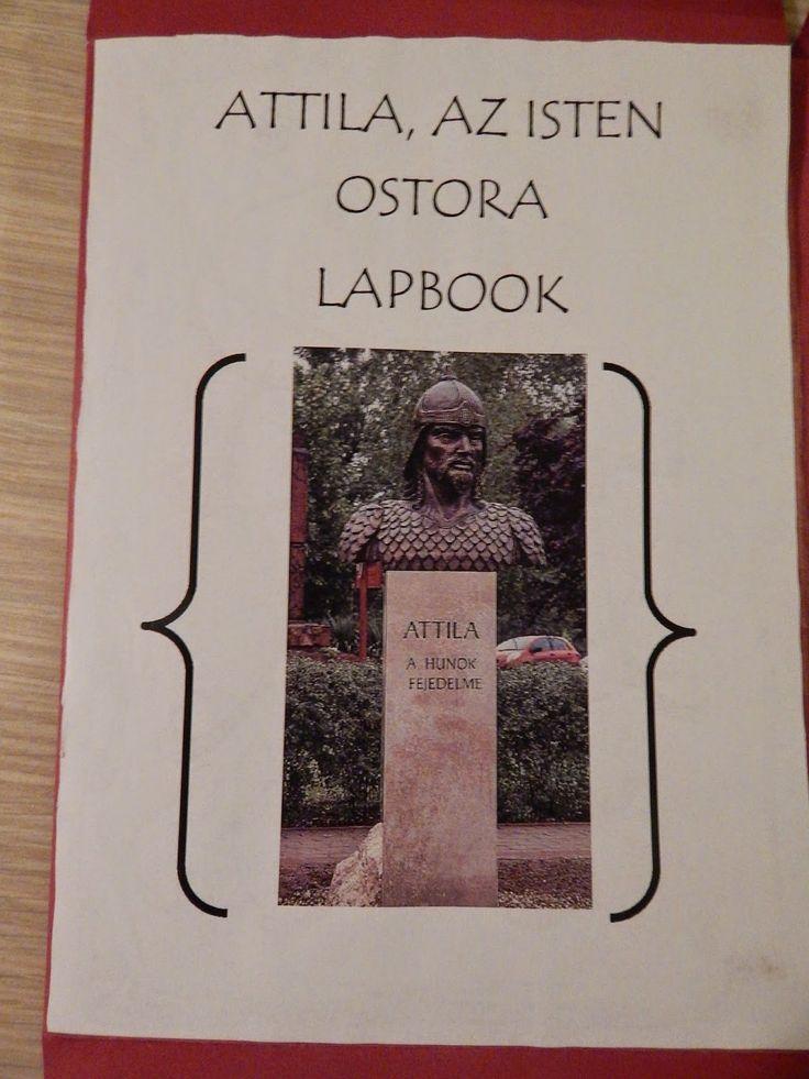 Attila, az isten ostora lapbook