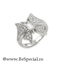 inel argint in forma de floare 112 lei