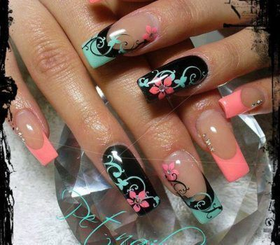 608 best top nail art images on pinterest this style of manicure is easy to do on yourself save these 60 gorgeous french nail designs for next spring solutioingenieria Image collections