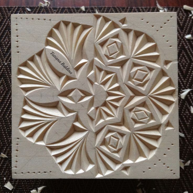 Quot incompatibility chip carving pattern by tatiana baldina