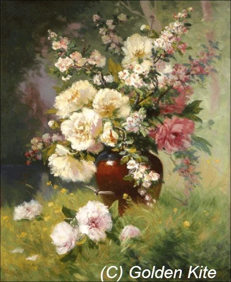 Peonies and Cerisiers (small)