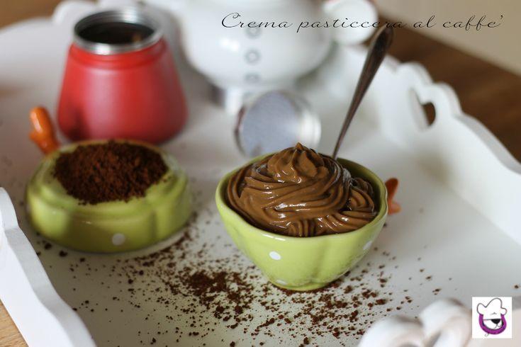 Crema pasticcera al caffè, ricetta tradizionale e ricetta Bimby