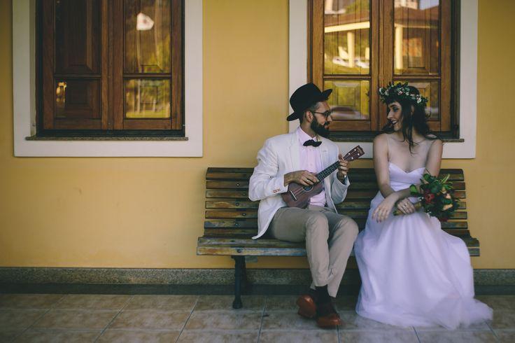 Ensaio pré-casamento Gabrielle e Arthur: Agridoce Café e Vinícola Miolo - O Amor é Simples