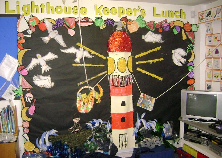 The Lighthouse Keeper's Lunch classroom display photo - Photo gallery - SparkleBox