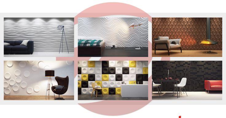 Decorative panels - shop online: http://www.decomania.pl/pl/c/Panele-3D-Dunes/318