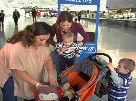 Jo Frost's Family Travel Tips at the Airport- I'm going to need this in a couple of weeks!!