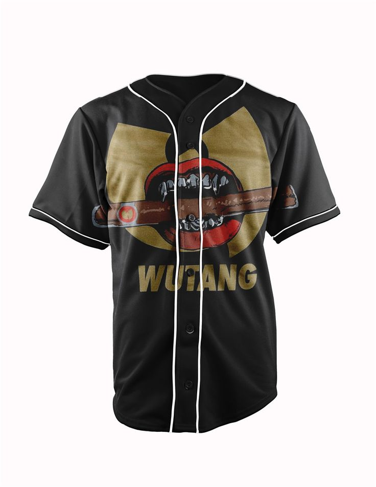 Wu-Tang Clan Blac... http://www.jakkoutthebxx.com/products/real-usa-size-wutang-wu-tang-clan-3d-sublimation-print-custom-made-black-button-up-baseball-jersey-plus-size?utm_campaign=social_autopilot&utm_source=pin&utm_medium=pin #alloverprint #mall #style #trending #shoppingaddict  #shoppingtime #musthave #onlineshopping #new