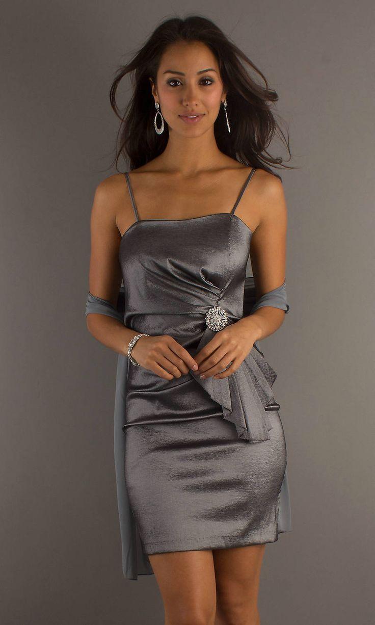 Short Gray Dresses