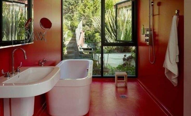 die besten 25 rote badezimmer ideen auf pinterest rotes