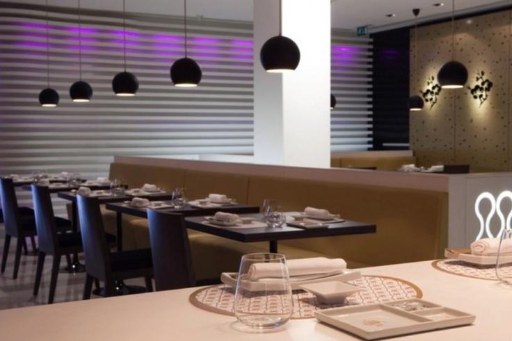 Sushi Café Avenida - Modern Design Restaurante | http://portugalbrands.com/blog/sushi-cafe-avenida-modern-design-restaurant/
