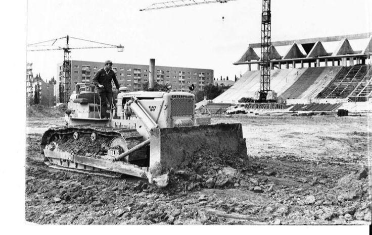 Se cumplen 50 años de la inauguración del estadio Vicente Calderón.