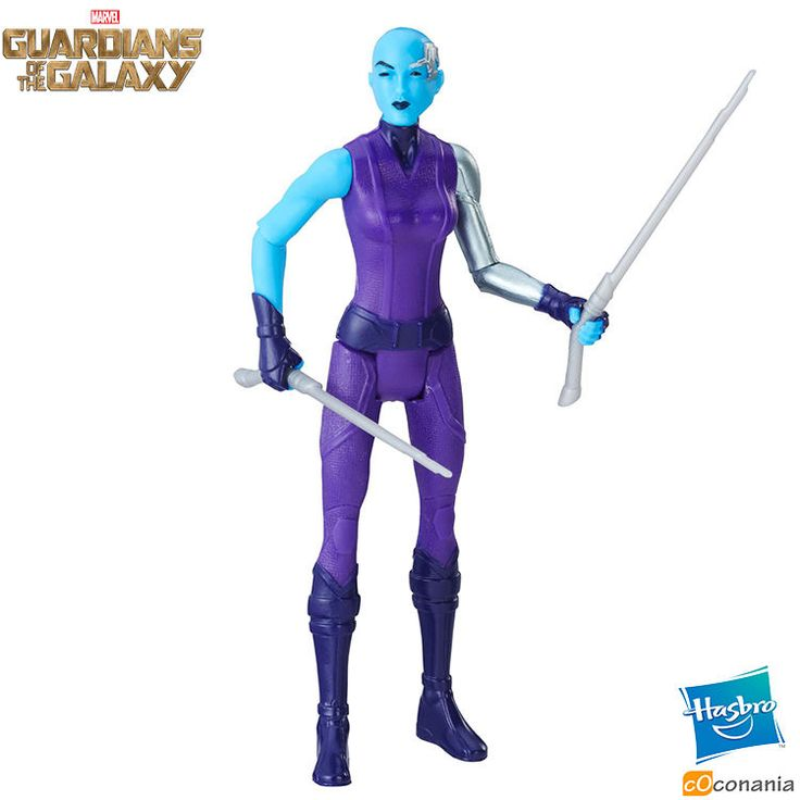 Nebula Marvel Guardians of the Galaxy Wave 2 Hasbro 6 Action Figure C0425  NEW