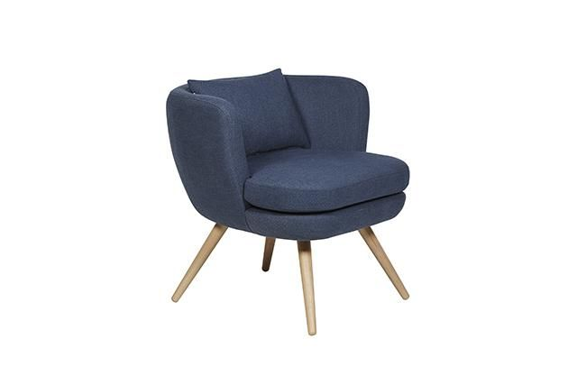 GlobeWest - Sketch Bowler Occasional Chair