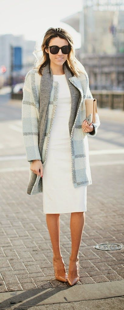 Black & White , Baby Peplum # Coat # Grey # Layering