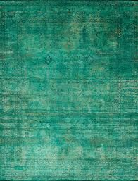emerald green rug - apartment therapy